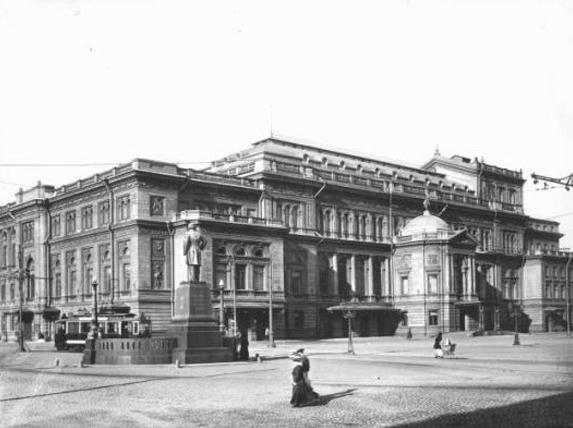 サンクトペテルブルク音楽院(1913年当時の写真)